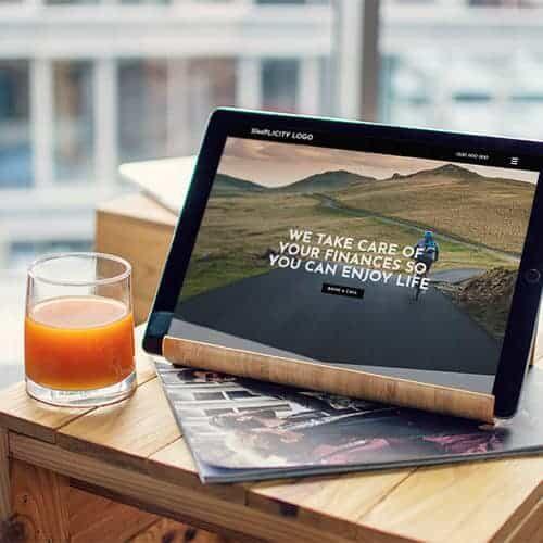 advice-websites-simplicity-ipad-circle